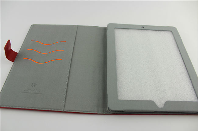 Dustproof for ipad 2 case with wallet and stand function made in china