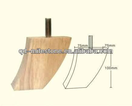 Madera partes de muebles patas de madera para sof s for Patas para muebles madera