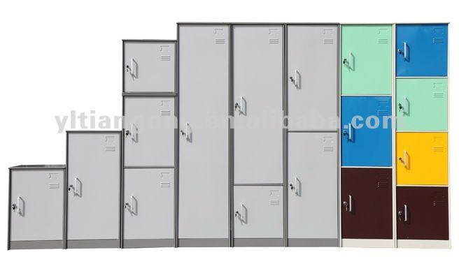 1 Door Round Featheredge KD Steel Locker