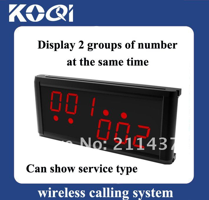 K-236 wireless call bell system