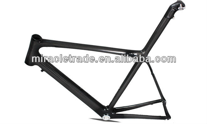 full carbon road bicycle frameset new racing bike frame high quality frames