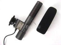 Stereo Microphone For Camcorder DV Vidieo Cameras Canon 5D II 7D 550D 600D T2i T3i 60D Nikon D300s D7000 D5100 D3S Pentax K7