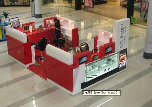 shopping mall display kiosk