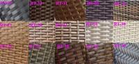 Плетеный диван wicker rattan furniture outdoor garden sofa patio SCSF-117