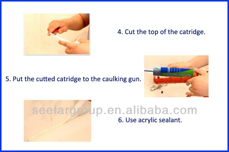 paintable waterproof acrylic mastic sealant