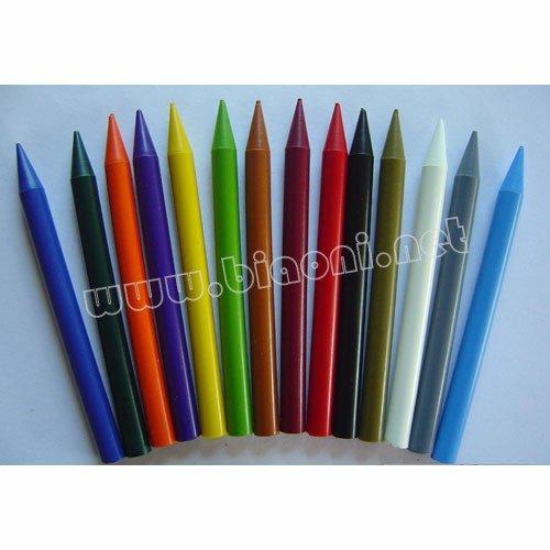 Восковой карандаш цвет темной окраски