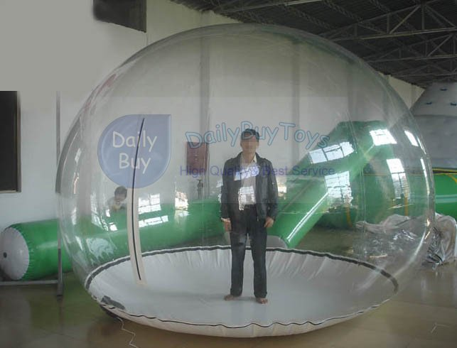 GB01 PVC Advertising inflatables / inflatable clear tent / Clear Prefab Bubble Tents / inflatable globe & Wholesale-GB01 TPU Advertising Inflatables / Inflatable Clear Tent ...