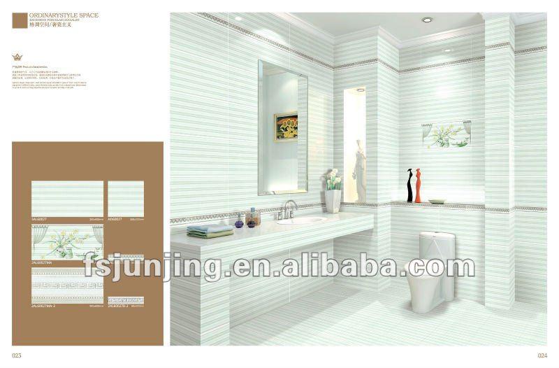 Baldosas Baño Diseno: nuevo diseño, cuarto de baño baldosas de cerámica blanca, 3al60027