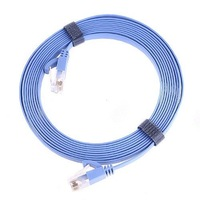 Кабель связи RJ45 Cat6 Flat Ethernet Patch Network Lan Communication Cable Equipment 3m Drop Shipping