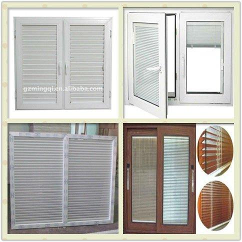 Modern manual aluminum glass jalousie window view for Une jalousie fenetre