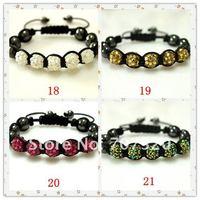 Браслет из бисера Cheapest Price Shamballa bracelet 5 pcs resin disco beads