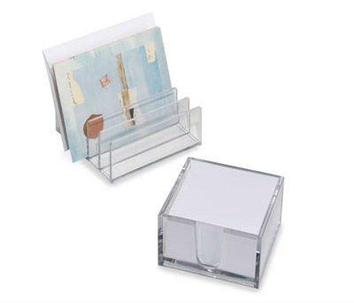 Acrylic desk organizer or clear acrylic stationery with 6 - Acrylic desk organizer ...