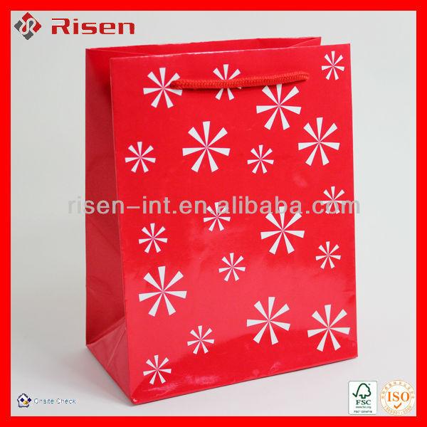 lovely sweet Christmas mini paper gift bags