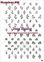 Шаблоны для дизайна ногтей Large Size 14.8cmx21cm Stamp Stamping Image Plate Nail Art BIG Template