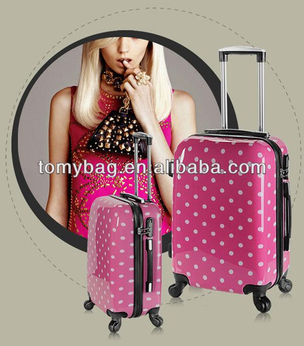 New Design ABS+PC Luggage/Fashion Trolley Travel Bag