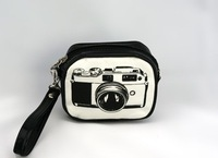 Монетницаs shipping! Korea Fashion Retro camera bag with many uses, 7 colors canvas camera bag, coin purses, storage bag