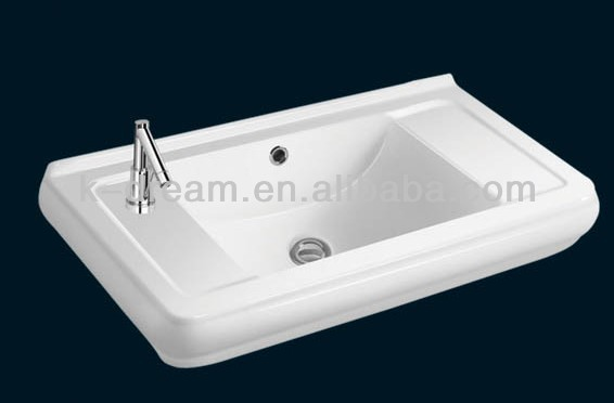 parryware wash basin with cabinet 1