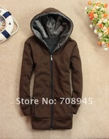 1 Piece Best Selling!!  Fashion Casual Women's Hoodie Coat  6 Colors+Free shipping