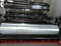 Cast clear LLDPE pallet wrap plastic film