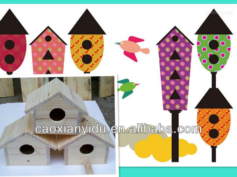 min wooden bird cage bird cages,bird house,rural wooden box
