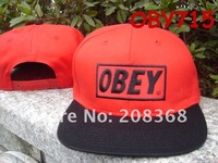 Free shipping OBEY Sport snapback hats ,Customized hat ,Any team ,Any logo ,Many style in stock ,Fast processing time