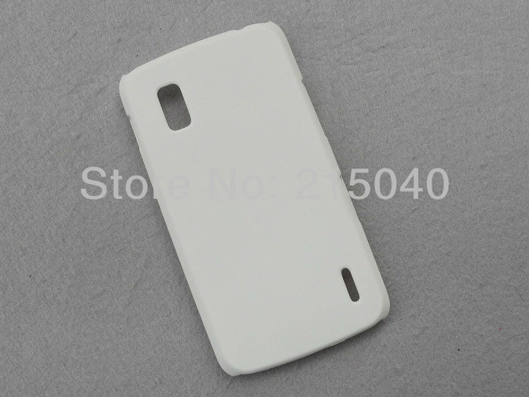 Hard Matte Case for LG E960 Nexus 4 Back Hard Rubber Case, High Quality, LGC-001 (5)