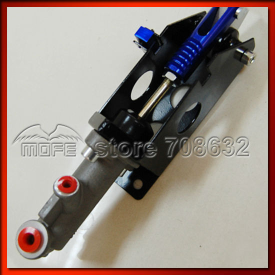 Universal Aluminum Master Cylinder 0.7 Inch Vertical Horizontal Racing Drift Rally Hydraulic Handbrake Hand Brake Purple Red Black Blue DSC_0307