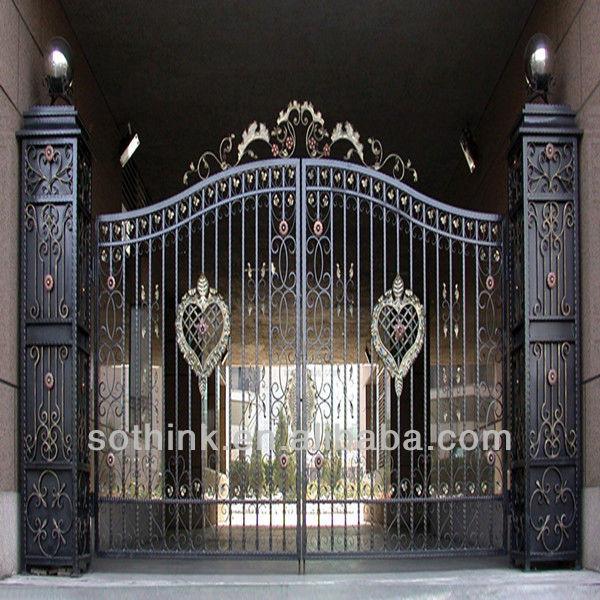 Steel Gate Design View Steel Gate Tiger Product Details