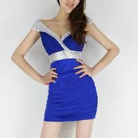 Одежда и Аксессуары Sequin V Clubwear Bodycon