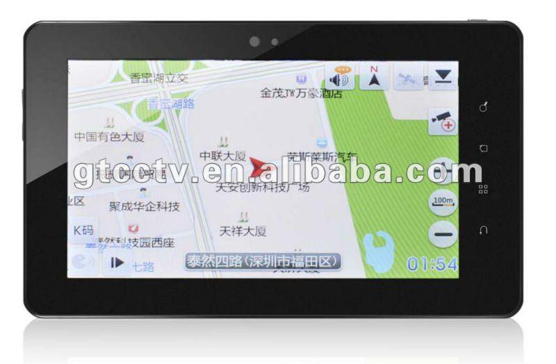 Tablet pc con gps 3 г bluetooh производитель 7 мобильный терминал данных для такси отправки (pc-745)