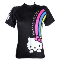 Новый женский Велоспорт Райдер велосипед одежда Майка носить paladinsport Радуга и Китти dx75/77