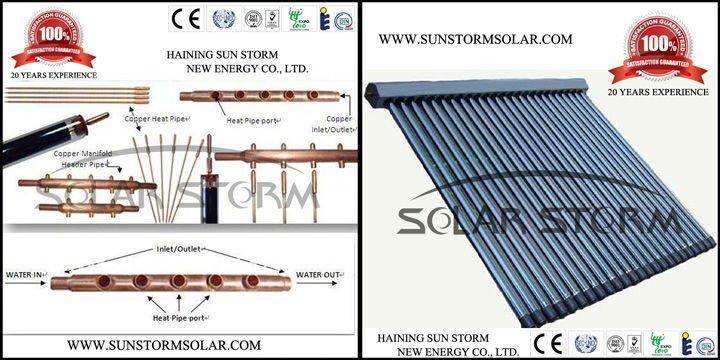 Solar Storm Canada Market Split Pressurized Solar Water Heater 200L