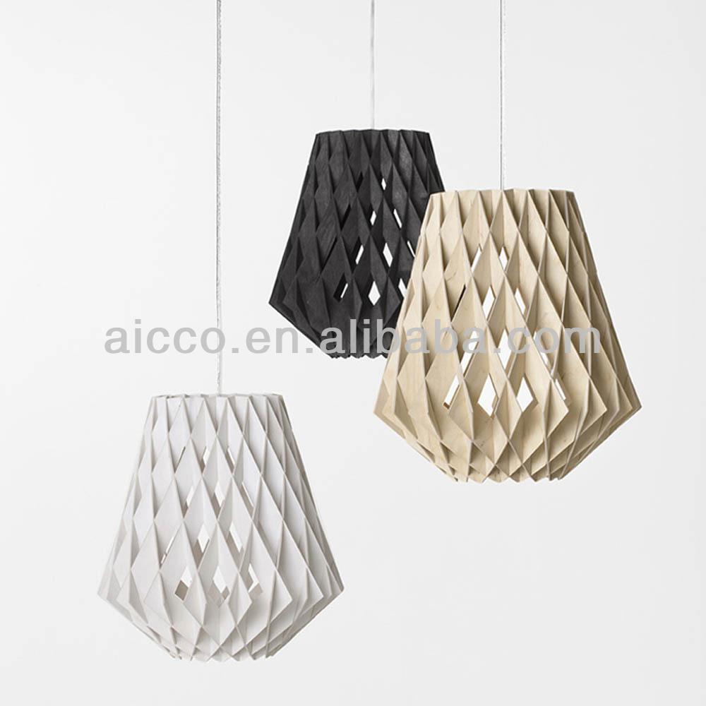 Moderne houten lotus kroonluchter licht/hanglamp te koop ...