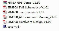 SIM908 evaluation kit evaluation board