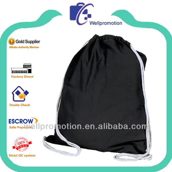 Wellpromotion 2014 design 6 OZ drawstring cotton bag