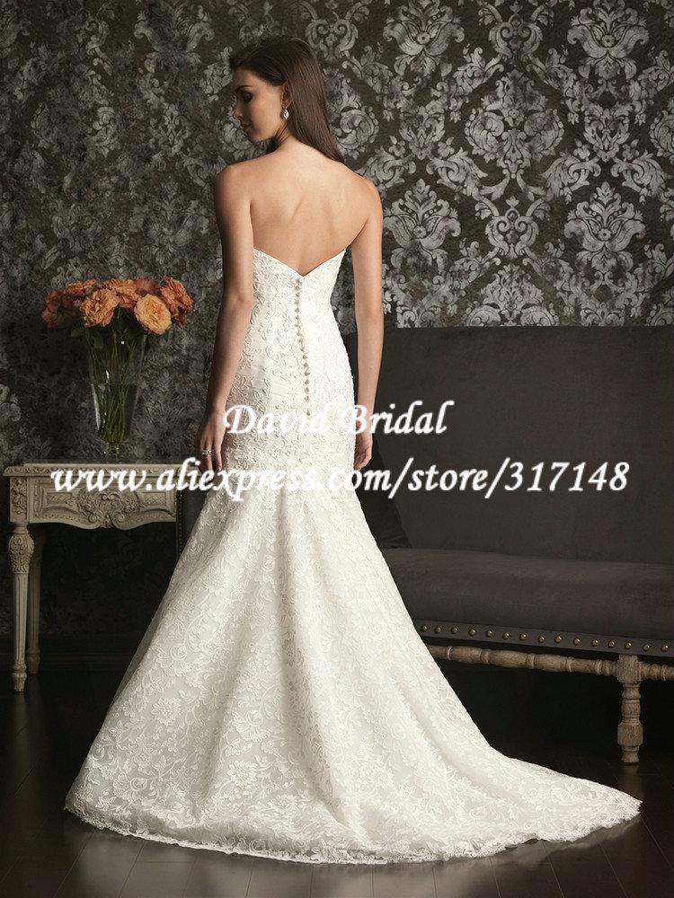 Sweetheart New Spanish Lace Wedding Dress 2013 Mermaid ...