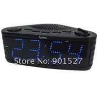 hot led clock radio free shipping