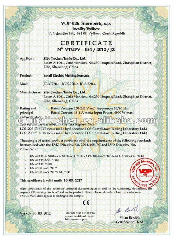 1-3kg Tilt-Pour Automatic Gold Melting Furnace