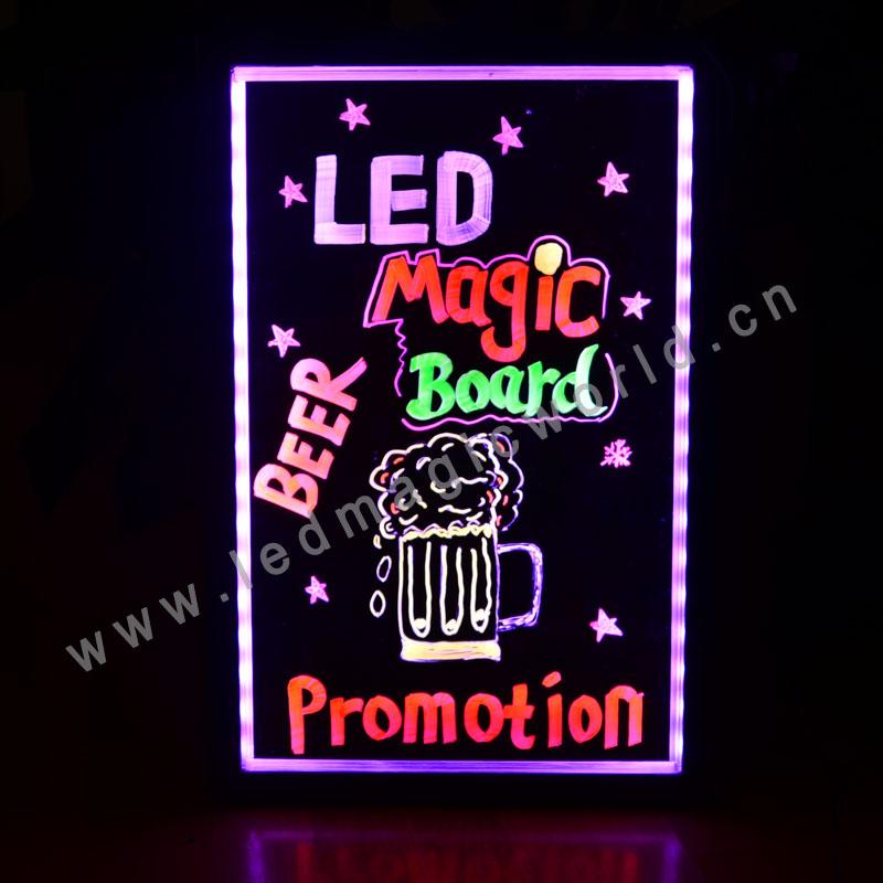 2015 Kids Ali Express LED Writing Board/LED Chalkboard/LED Blackboard