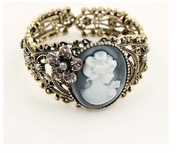 Винтажное ювелирное изделие Fashion Korea vintage Hollow Relief Avatar bangles jewelry