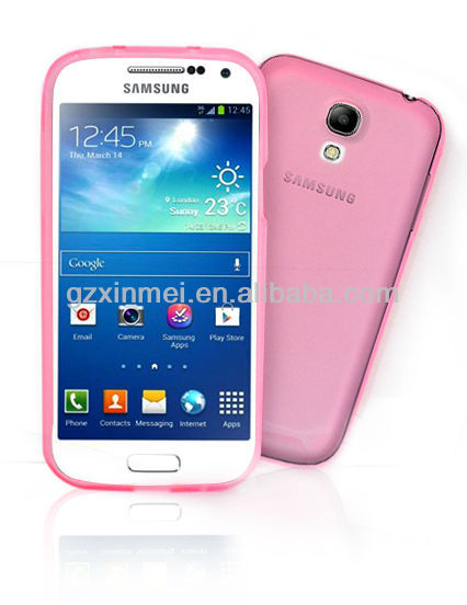 Hot selling TPU cover for Samsung galaxy s4 MINI pouch case