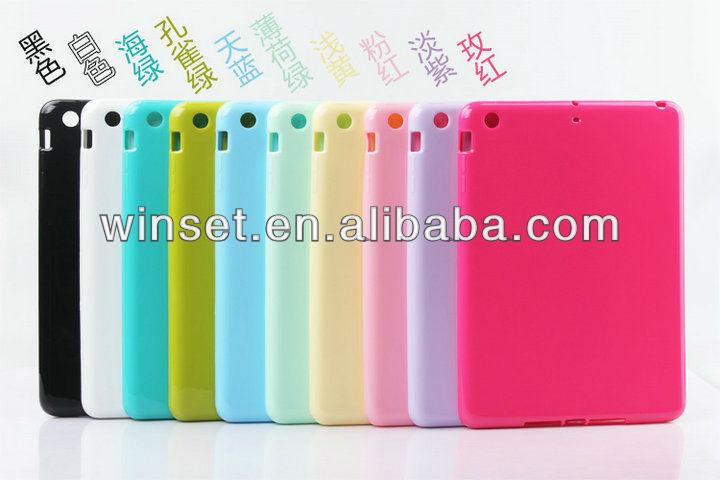 for iPad Mini Clear TPU Case