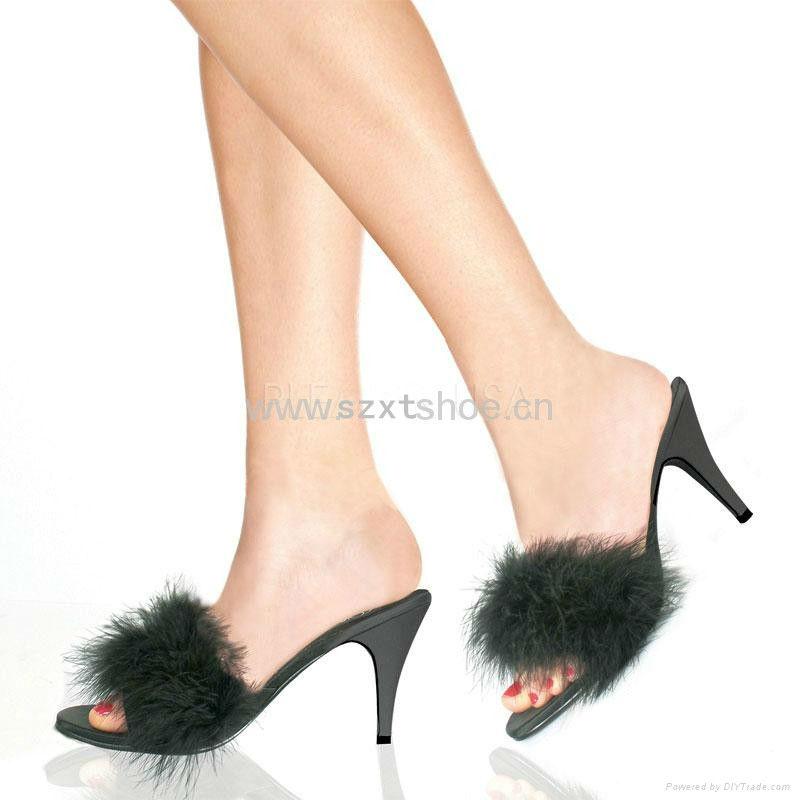 Heel High Heel Slipper For Women Sexy Bedroom Slippers Jelly Slippers
