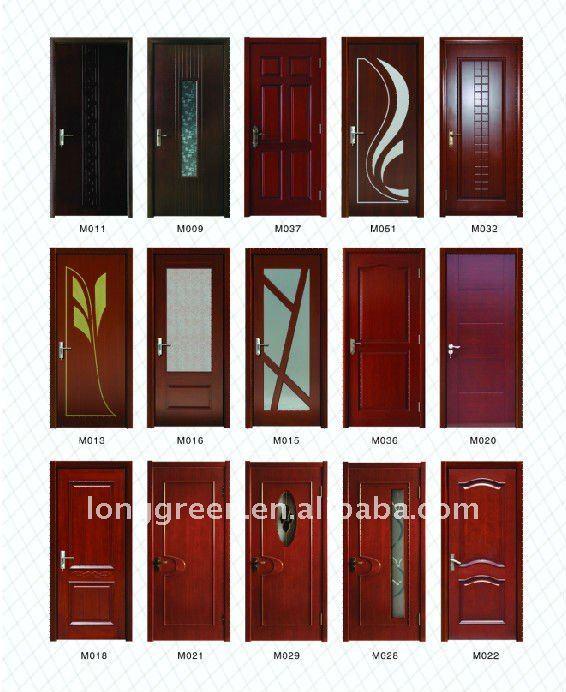 Wpc safety wooden door design buy main door design new design wooden door laminate door - Safety door designs for home ...