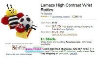 Фаршированная & Плюшевые животных Lamaze Lamaze музыкальные Inchworm