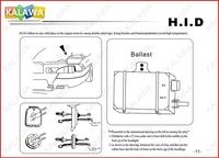 h7 hid лампы ксенон установить системы 35w спрятал преобразования ксенон комплект комплект #d