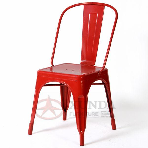XD-445 Tolix chair/ Hot Sell Restaurant Marais Side Chair