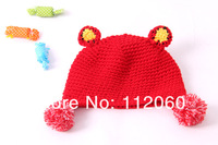 Шапка для мальчиков Babys hat, head cap, with cute little bear pattern, babys cotton cap, winter &autumn, 5pieces/lot
