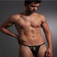 Потребительские товары Men's Sex Underwear G-Strings & Thongs, male bikini Sexy panties size M-XXXL KF168