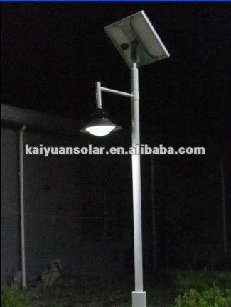 15w 4m solar garden led lamp